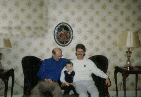 Me with my Father and Grandfather